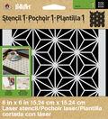 FolkArt® Stencil1™ Laser Stencils - Small - Star Pattern