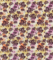 Keepsake Calico™ Cotton Fabric 43''-Packed Fall Floral, , hi-res