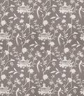 Eaton Square Upholstery Fabric 54\u0022-Francisco/Grey