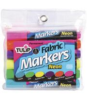 Tulip Fabric Markers-6PK/Neon, , hi-res