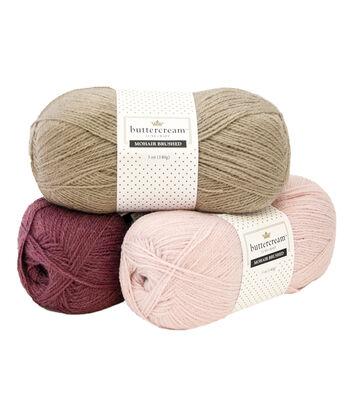Buttercream Mohair Yarn
