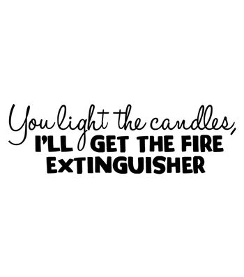 Art Impressions Girlfriends Cling Rubber Stamp Extinguisher