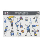 University of Kansas Jayhawks Window Decal-Family, , hi-res
