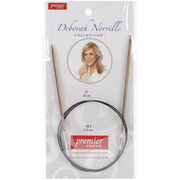 "Deborah Norville Fixed Circular Needles 32""-Size 3/3.25mm, , hi-res"