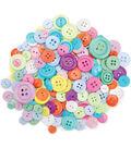 Dress It Up Button Super Value Pack-Confetti