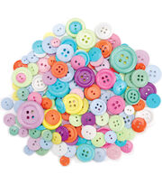 Dress It Up Button Super Value Pack-Confetti, , hi-res
