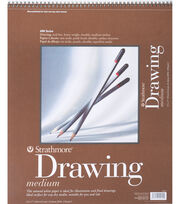 "Strathmore Medium Drawing Paper Pad 14""X17"", , hi-res"