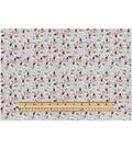 Keepsake Calico™ Cotton Fabric 43\u0022-Packed Floral Gray