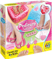 Creativity for Kids Kit Pretty Pedicure Salon, , hi-res