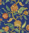Waverly Print Fabric 54\u0022-Asian Myth/Evening Sky