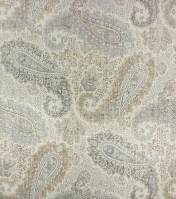 Optimum Performance Room Darkening Fabric 54''-Slate Paisley