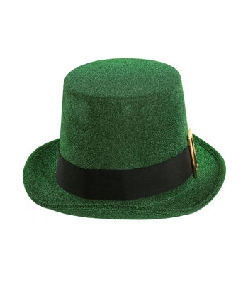 St. Patrick's Day Shimmering Top Hat