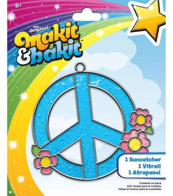 Makit and Bakit Suncatcher Kit-Peace Sign