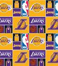 LA Lakers Cotton Fabric 44\u0027\u0027-Patch