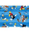 Disney Fleece Fabric 59\u0022-Mickey & Friends Custom Cruisers