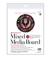 "Strathmore Mixed Media Board Vellum 11""X14"" 4/Pkg-, , hi-res"