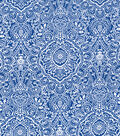 Keepsake Calico™ Cotton Fabric 43\u0022-Medallion on Navy