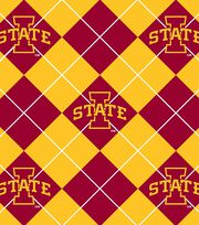 "Iowa State University Cyclones Fleece Fabric 58""-Argyle, , hi-res"