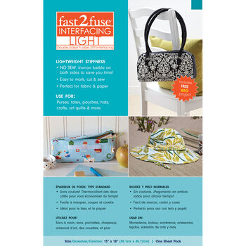 fast2fuse Fusible Interfacing Light