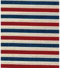 Patriotic Cotton Fabric 43\u0022-Textured Stripe