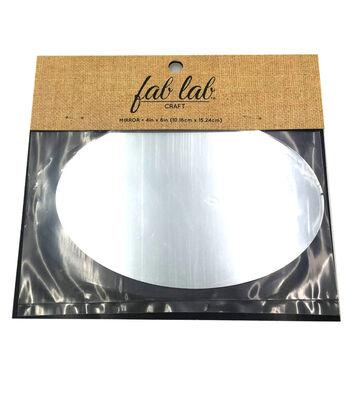 """Oval Glass Mirror 4""""X6""""-1/Pk"""