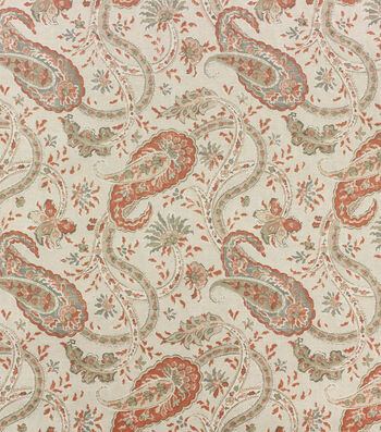 Hudson 43 Fabric-Coral Namaste