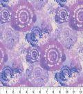 Keepsake Calico Cotton Fabric 44\u0027\u0027-Periwinkle Tie Dye