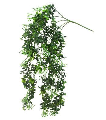 Fresh Picked Greens Hanging Boxwood Bush
