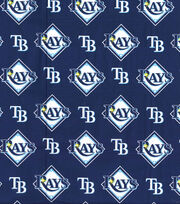 "Tampa Bay Devil Rays Cotton Fabric 58""-Logo, , hi-res"