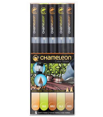 Chameleon 5 pk Color Tone Pens-Earth Tones