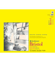 "Strathmore Smooth Bristol Paper Pad 19""X24""-100lb 20 Sheets, , hi-res"