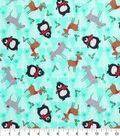 Keepsake Calico™ Holiday Cotton Fabric 43\u0022-Northwood Creatures and Trees