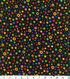 Keepsake Calico™ Cotton Fabric 43\u0022-Multi Dots Large Black