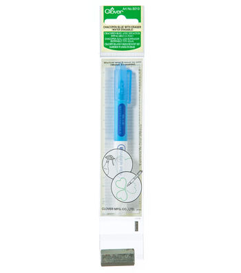 Clover® Chacopen Water Soluble Eraser Pen-Blue