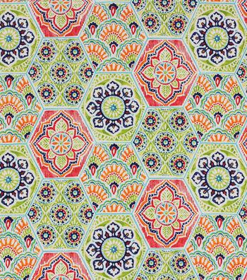 Solarium Outdoor Print Fabric 54''-Multi Kennett