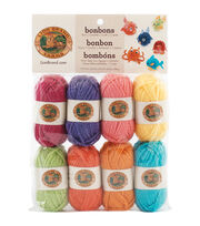 Lion Brand Bonbons Yarn 8/Pkg-Brights, , hi-res