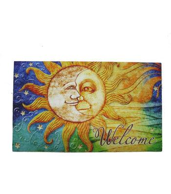 Wild Blooms Rubber Doormat-Sun & Moon