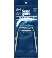 "Susan Bates Quicksilver Circular Knitting Needles 16""-Size 8, , hi-res"