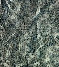 Autumn Equinox- Dot Camo Brown Embroidered Fabric
