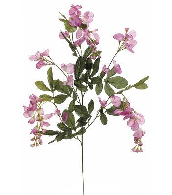 """Bloom Room 33"""" Wisteria Spray x5-Lavender"""