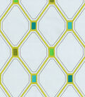 Waverly® Multi-Purpose Decor Fabric 54\u0022-Shindig Embroidery/Peacock