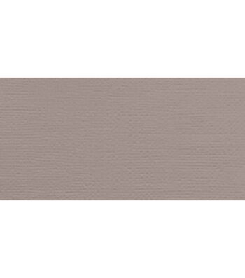 "American Crafts Textured Cardstock 12""X12""-Nickel"