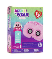 Ty Inc. Beanie Boos® Make & Wear Mask Kit-Pinky™ Owl, , hi-res