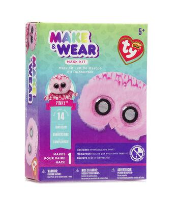 Ty Inc. Beanie Boos® Make & Wear Mask Kit-Pinky™ Owl