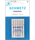 Schmetz Universal Machine Needles 5/Pk-Size 18/110