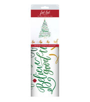 Fab Lab™ Holiday Craft Wall Decal-Christmas Tree Greetings, , hi-res