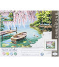 Dimensions® Paint Works Paint By Number Kit-Willow Spring Beauty