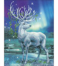White Stag Stamped Cross Stitch Kit 14 Count