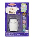 Melissa & Doug® Decorate-Your-Own Owl Bank Craft Kit