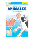 Pbs Publishing Spanish-English Book With CD-Look At The Animals